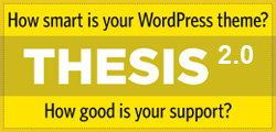Thesis the Premium SEO WordPress Framework