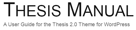 In Thesis Google Fonts nutzen